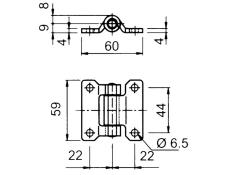 Articulatie usa laterala 60x60