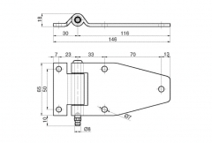 Articulatie usa laterala 116x65