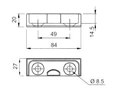 Cuib inchizator 84x27x20