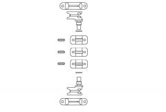 Inchizatori pt furgoane d=22