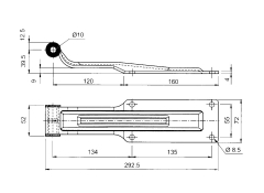 Articulatie usa furgon izoterm mic