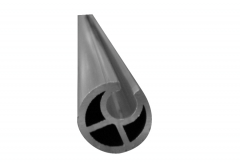 Profil ţeavă aluminiu pentru întindere prelată