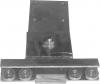 Cărucior stâlp pentru prelată culisantă F4