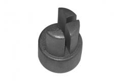Dop de capat pt profil aluminiu rotund
