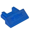 Plastic sealblock blue for profile 97 mm