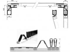 F3-A Tavanul şi părţile laterale se culisează împreună
