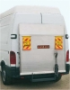Tail-lift for panel vans - 2 cylinders