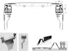 F6-B Tavanul şi părţile laterale se culisează separat
