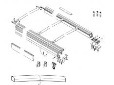 Sistem tavan MAGNUM  Fix1
