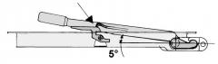 Inchizator cu montaj innecat,d=16,4  h=34,